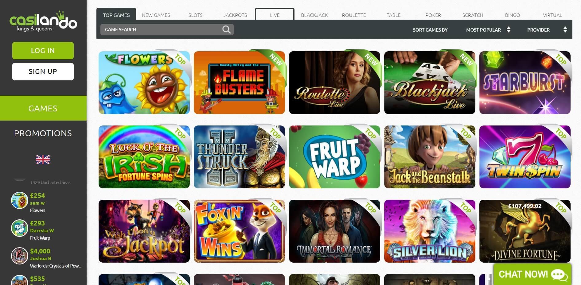 online mobile casino spiele k